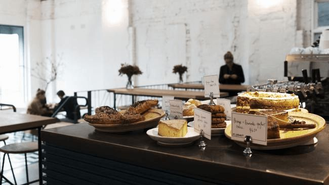Breakfast set at Nadaman
