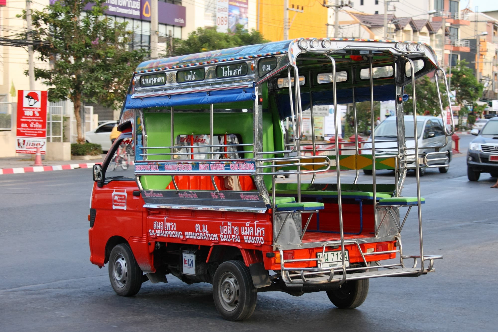 Hua-Hin-Car-Charter-Songthaew-Bus