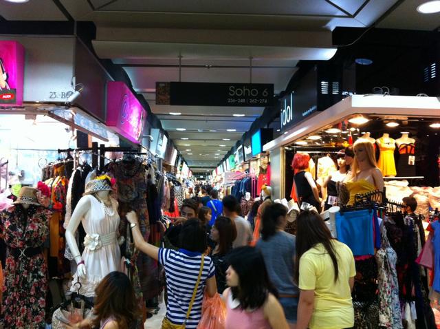 Platinum Mall crowds