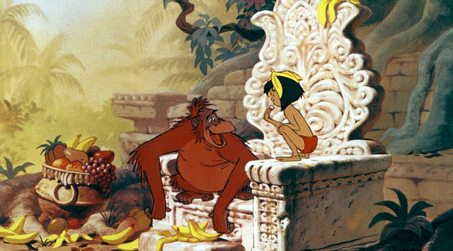 The Jungle Book - King Louie speaks to Mowgli