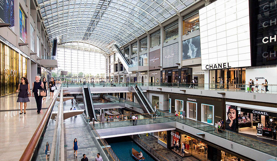 MBS shopping outlets