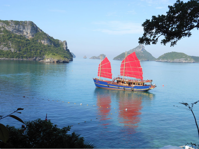 Red Baron traditional sailing ships