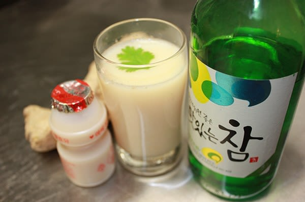 Yogurt Soju Ingredients