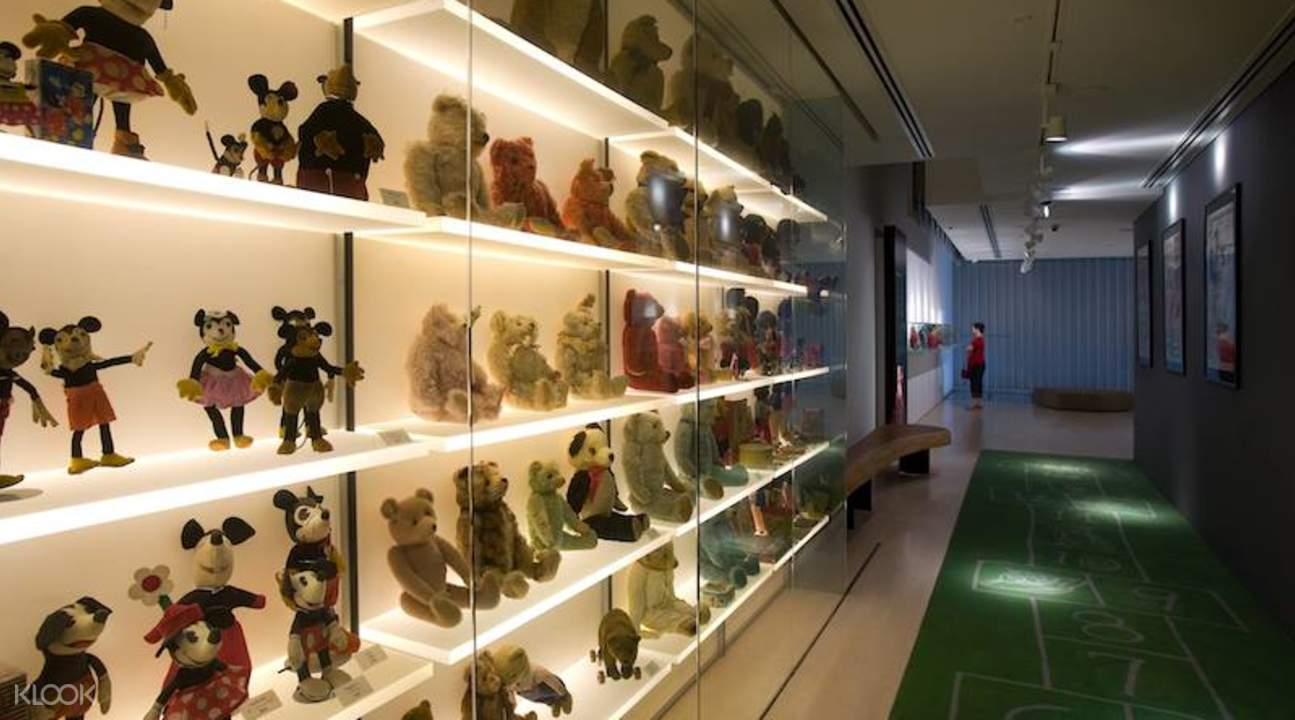 toy display at mint museum of toys singapore