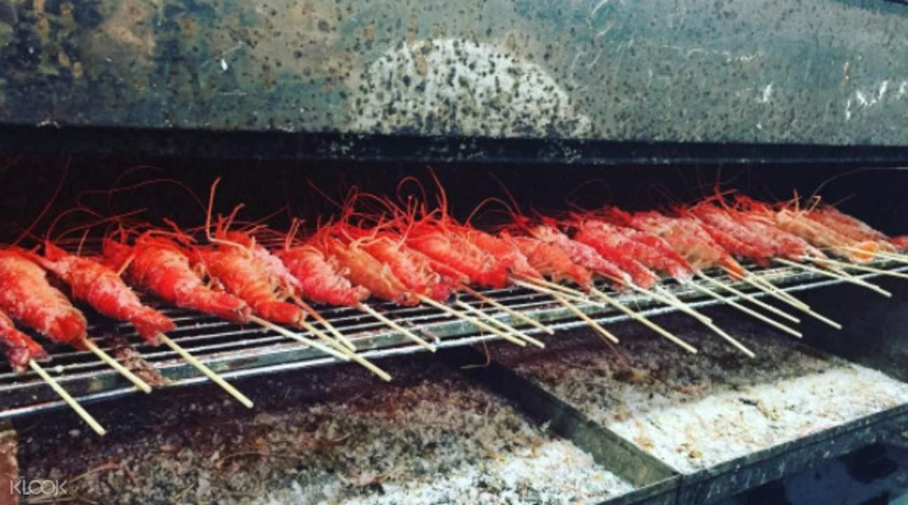 indoor-shrimp-fishing-bbq