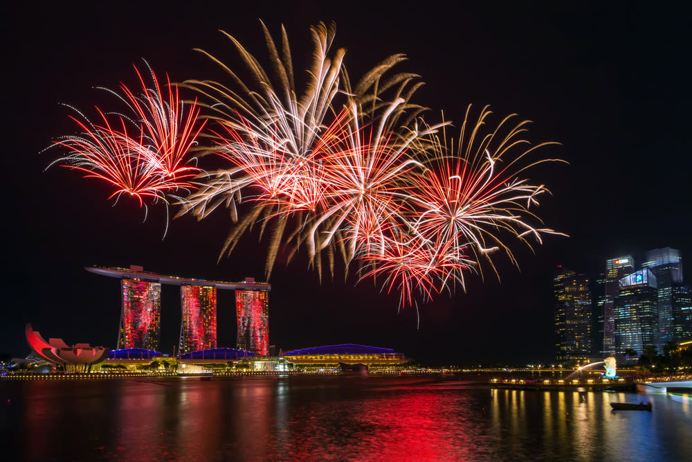 SG50 Fireworks