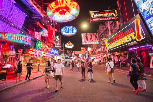 pattaya nightlife, pattaya thailand, pattaya bars, pattaya at night