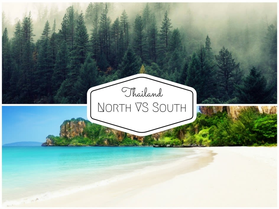 north vs south thailand, where to go in thailand, best places to travel thailand, best time to visit thailand