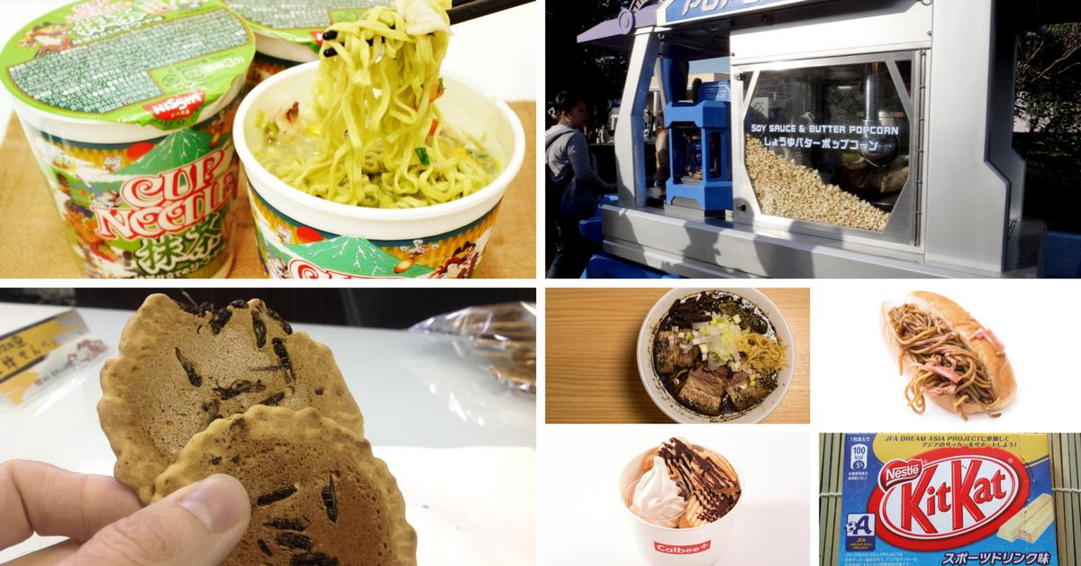 weird food japan
