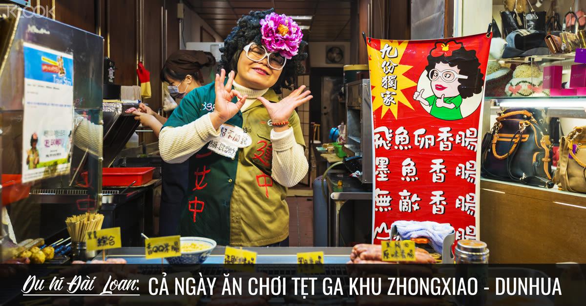 taipei ca ngay an choi khu zhongxiao dunhua