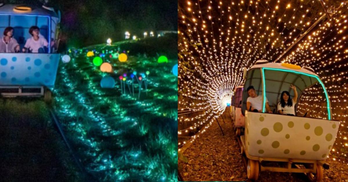 「最浪漫夏日約會景點」回來了!深澳鐵道自行車變身巨大心型星空隧道,快牽著另一半去甜蜜放閃