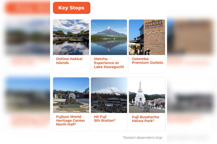 Mount Fuji Classic Tour Oshino Hakkai Gotemba Premium Outlets Dan Matcha Experience