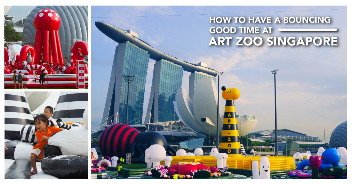 10 Tips For A Bouncing Good Time At Art Zoo Singapore