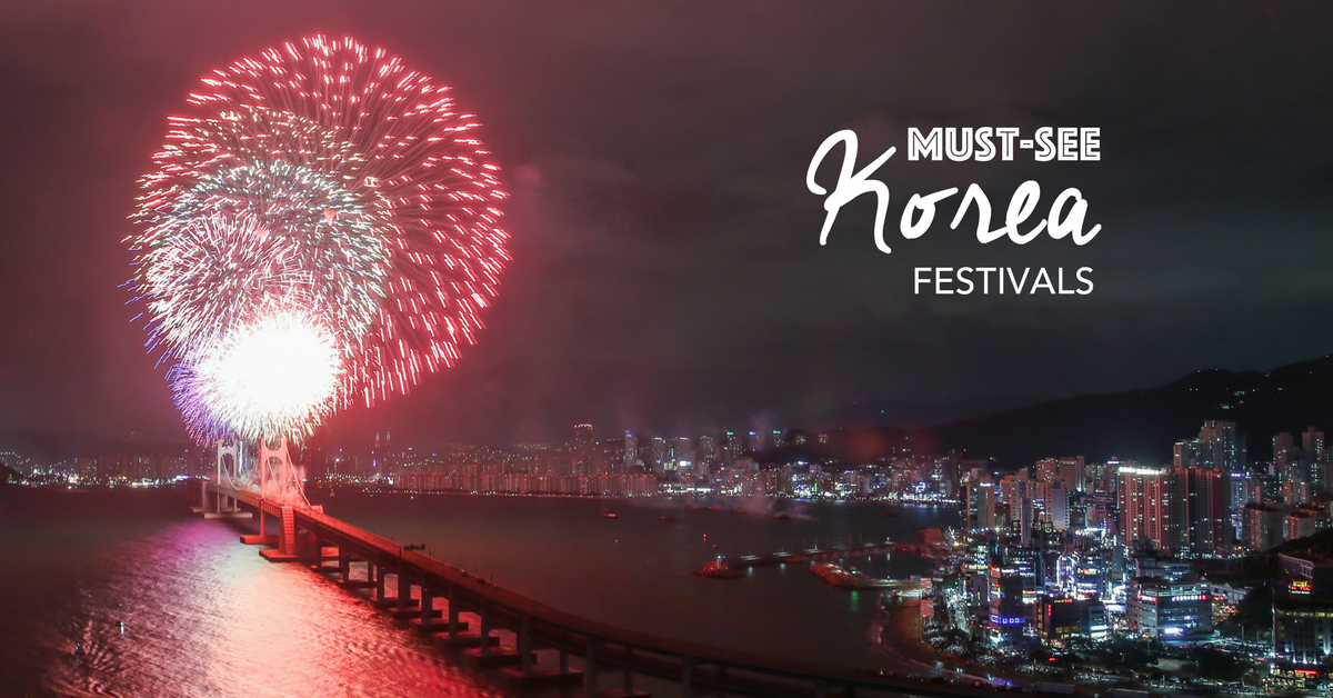 10 Festivals You Can Only Experience In South Korea