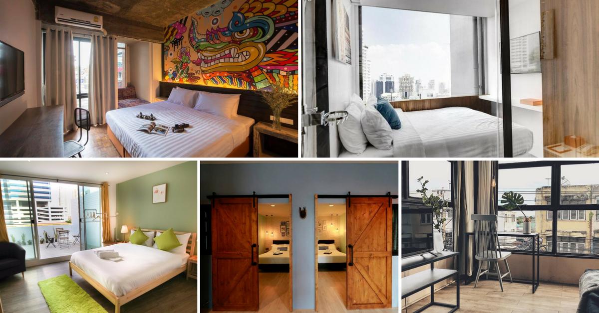 Bangkok hotel collage 1