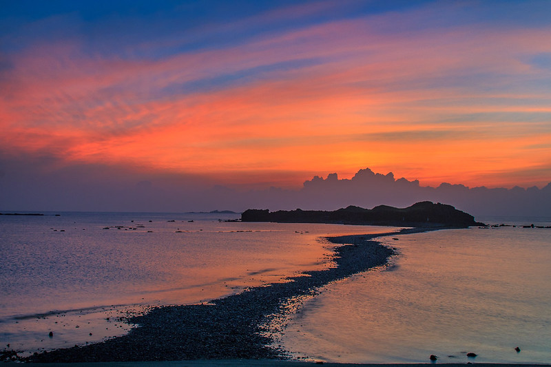 澎湖摩西分海