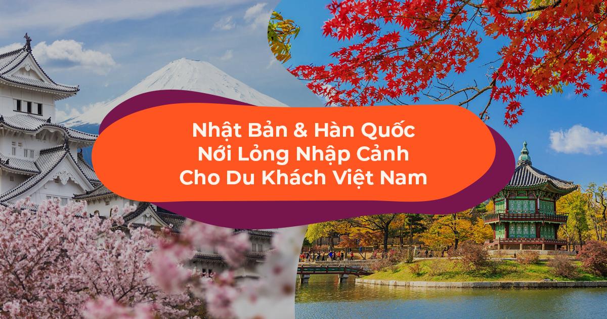 Tin Vui Mùa COVID-19: Nhật Bản & Hàn Quốc Nới Lỏng Nhập Cảnh Cho Du Khách Việt Nam