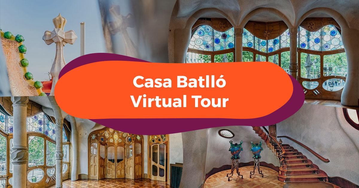 Klook Presents Casa Batlló - Interior Design Through Antoni Gaudi's Eyes