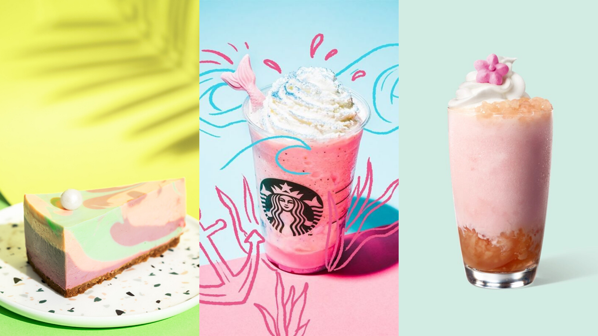 Starbucks Released New Mermazing Creations That Are Making Waves Online