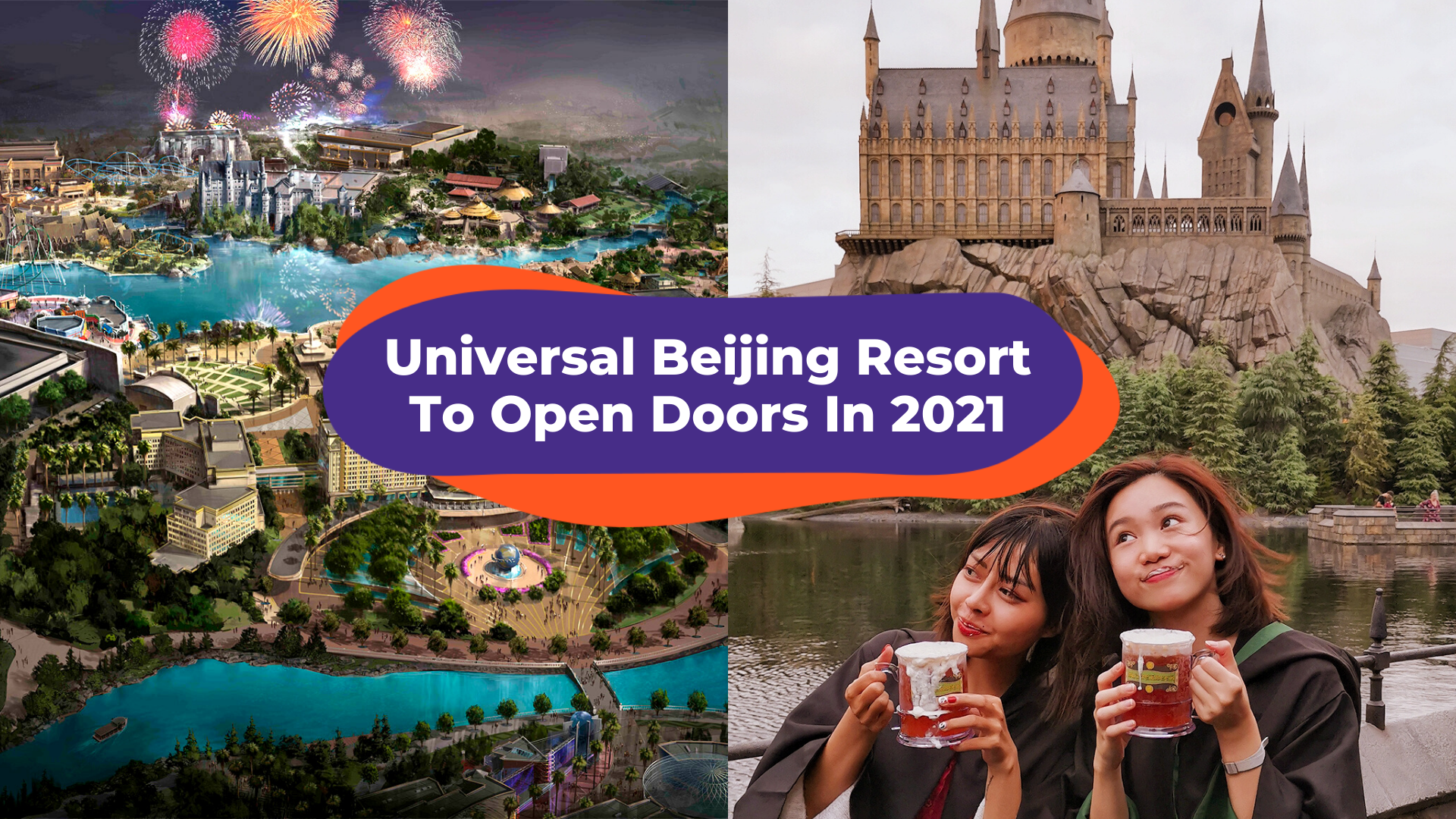 The Largest Universal Studios Theme Park Set To Open Its Doors In Beijing, Spring 2021