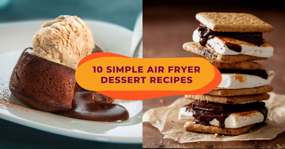 Simple Recipes For Desserts Like Lava Cake And Churros To Make With Your Air Fryer