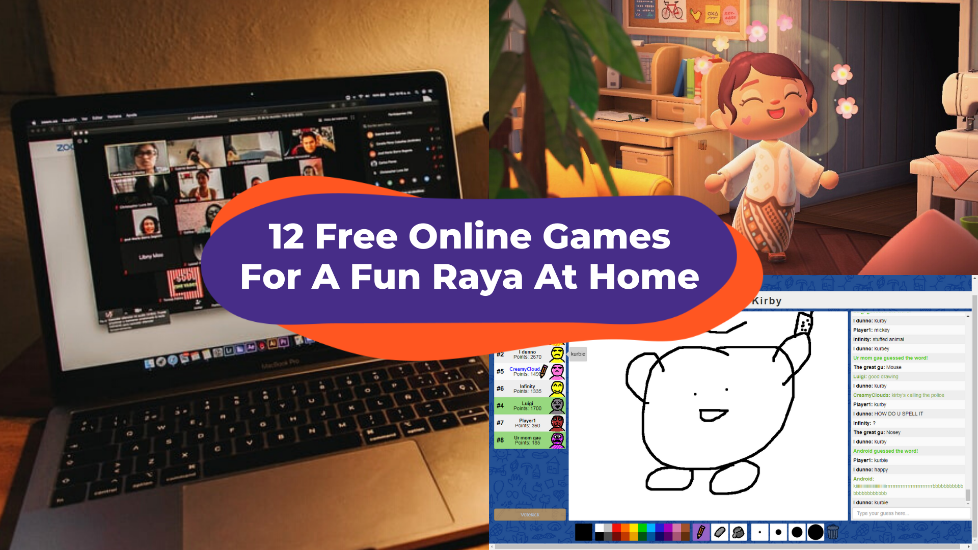 12 Free Multiplayer Online Zoom Games To Play With Your Friends And Family This Raya Klook Travel Blog