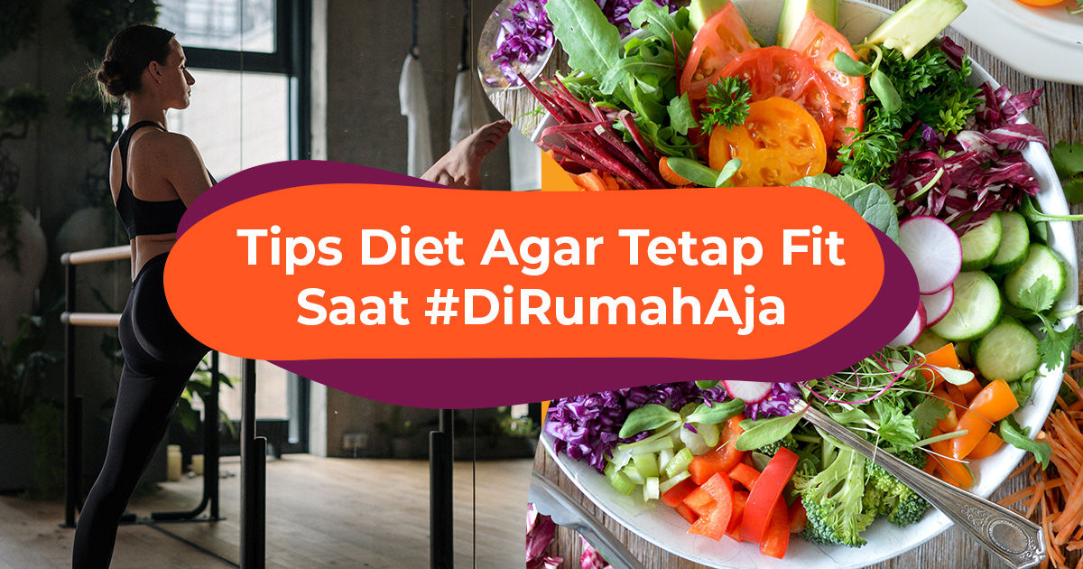 Blog Cover ID - Tips Diet #dirumahaja