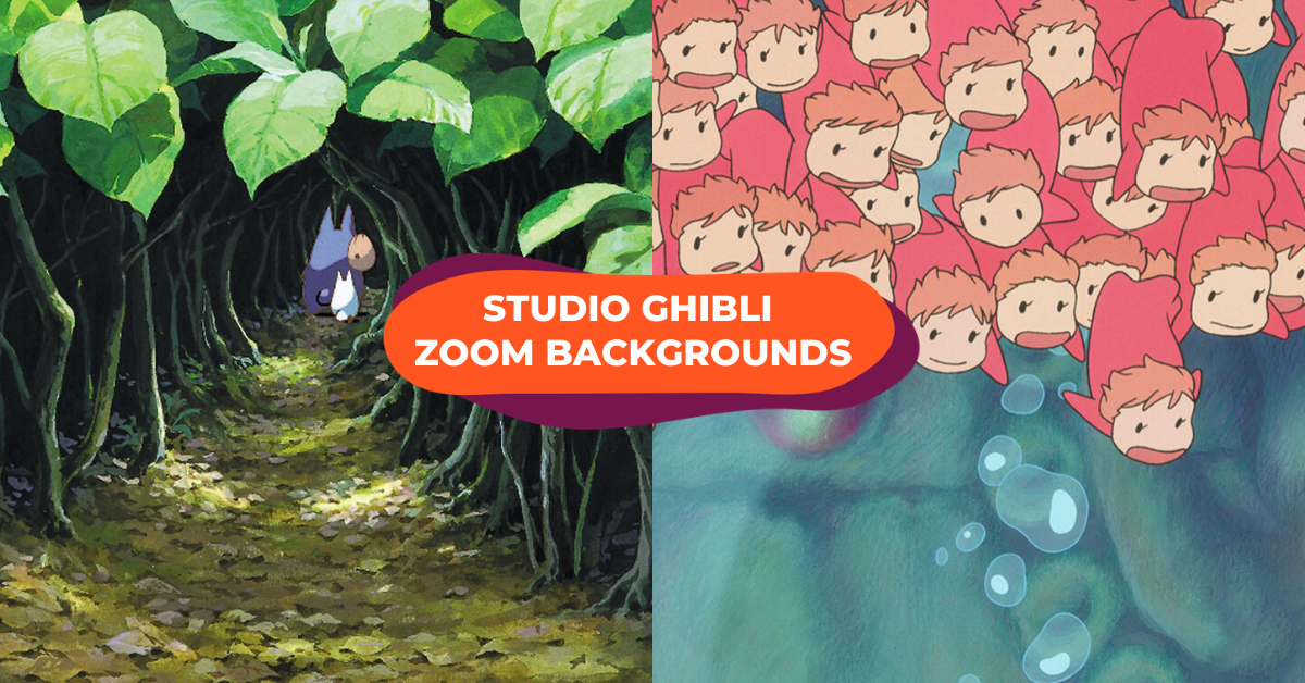 Studio Ghibli Released Zoom Backgrounds To Help You Escape Into A Fantasy World During Meetings Klook Travel Blog