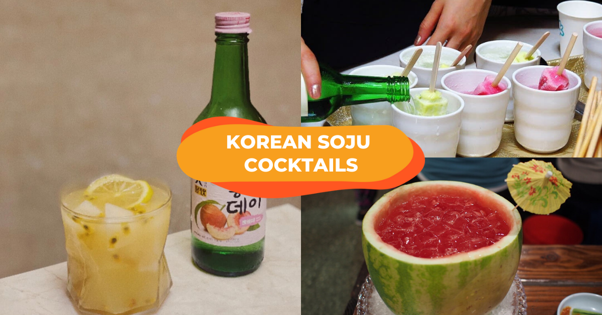 [Updated] 13 Korean Soju Mixes For Happy Hour At Home That Will Have You Shouting Geonbae!
