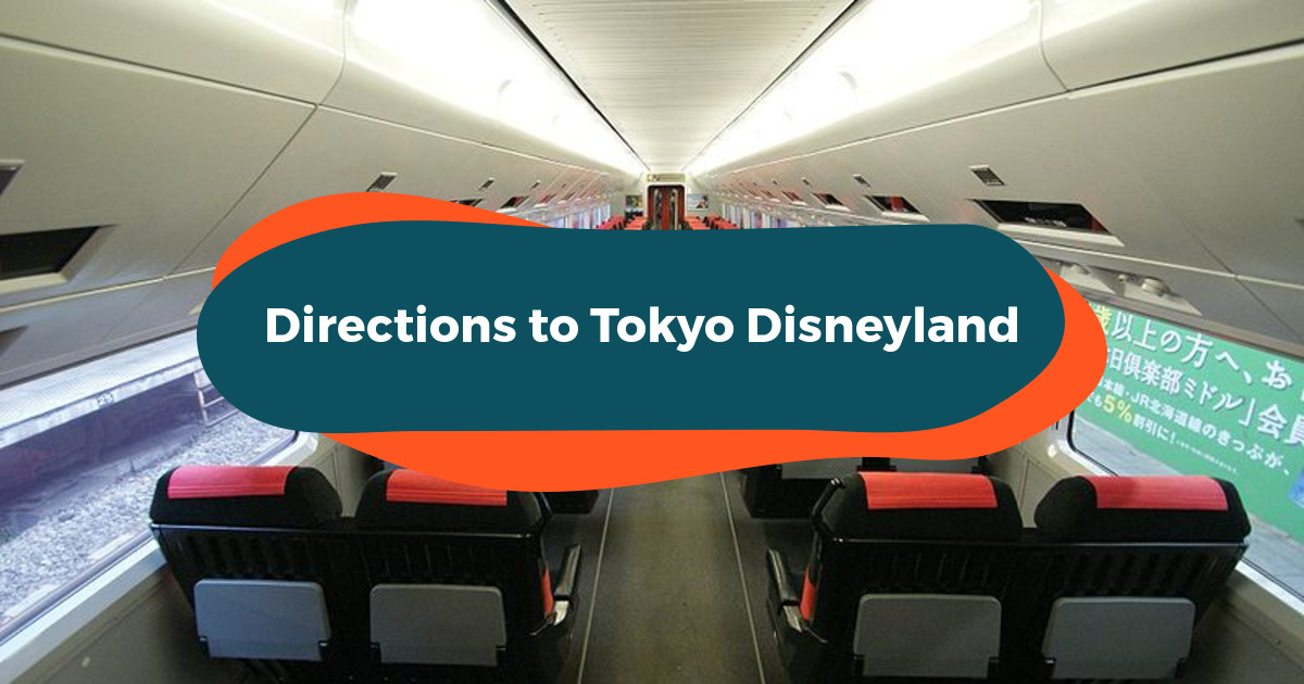 Directions to Tokyo Disneyland