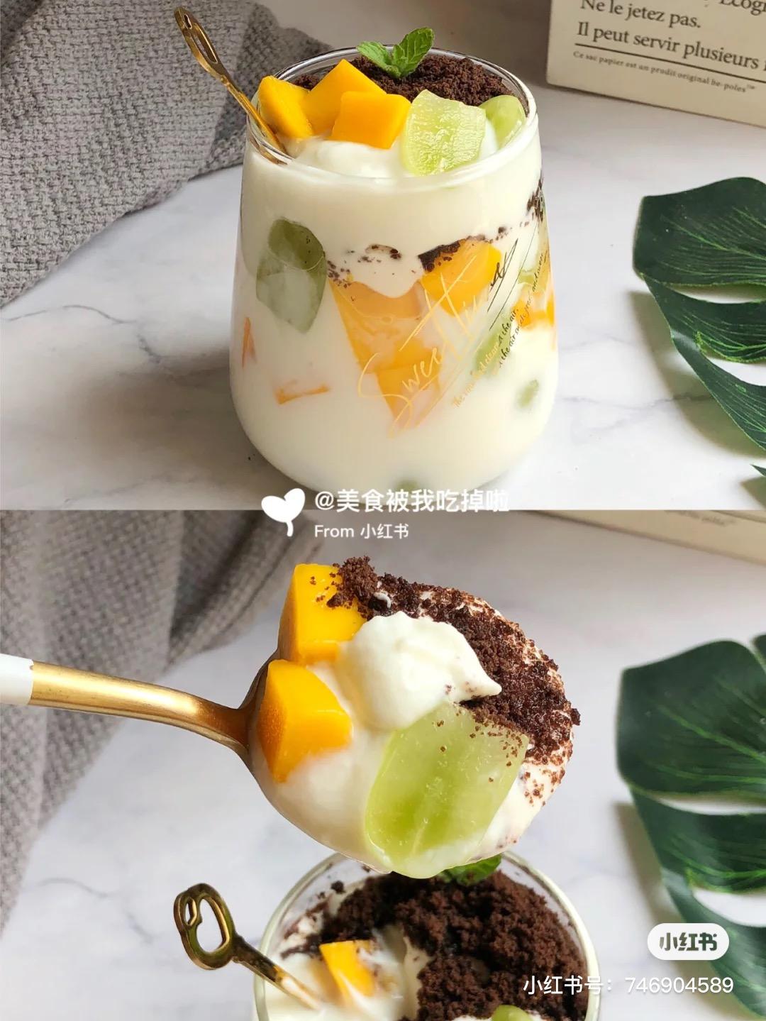 Oreo酸奶杯1