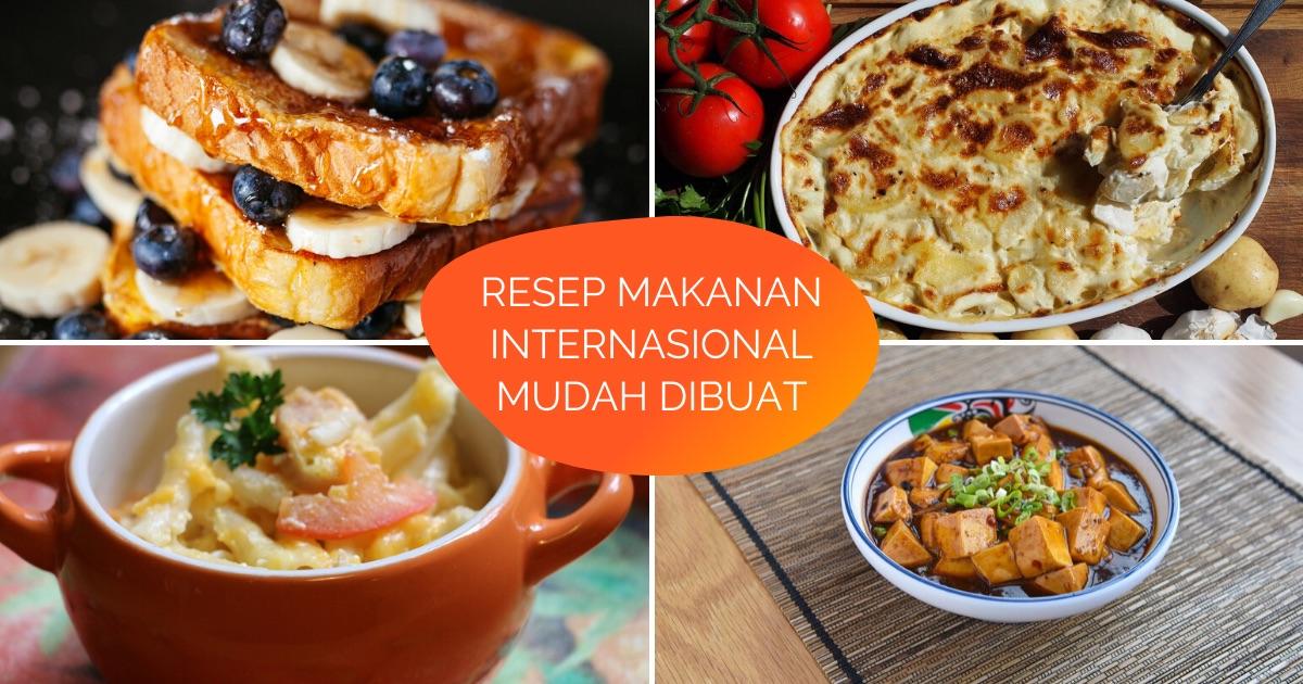 13 Resep Makanan Internasional Yang Mudah Dibuat Di Rumah Untuk Ngobatin Kangen Traveling Kamu Klook Blog