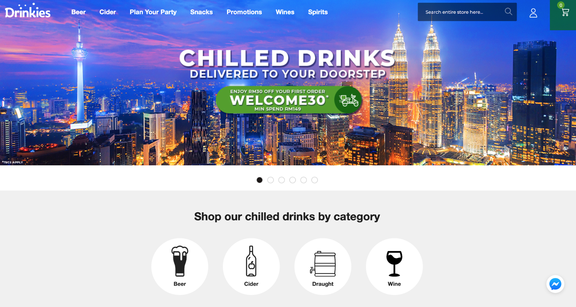 drinkies delivery malaysia