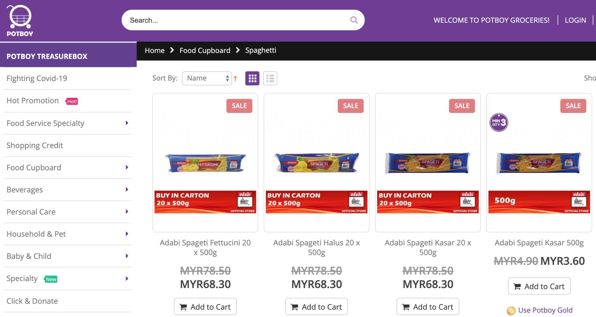 potboy grocery delivery malaysia