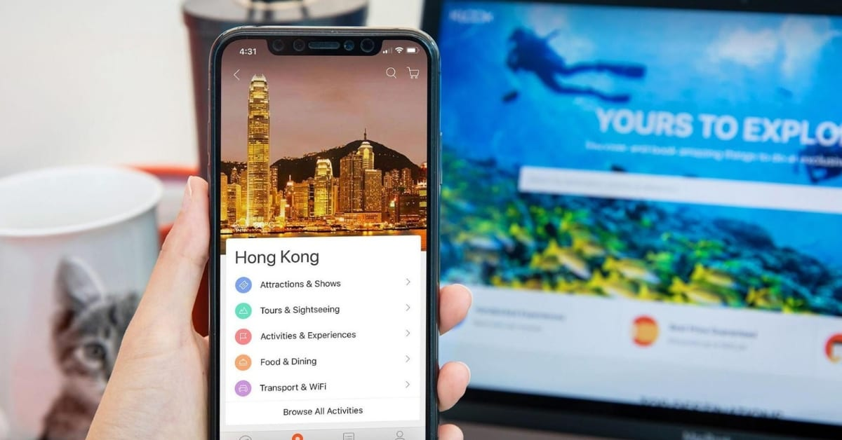 Klook UK How to book