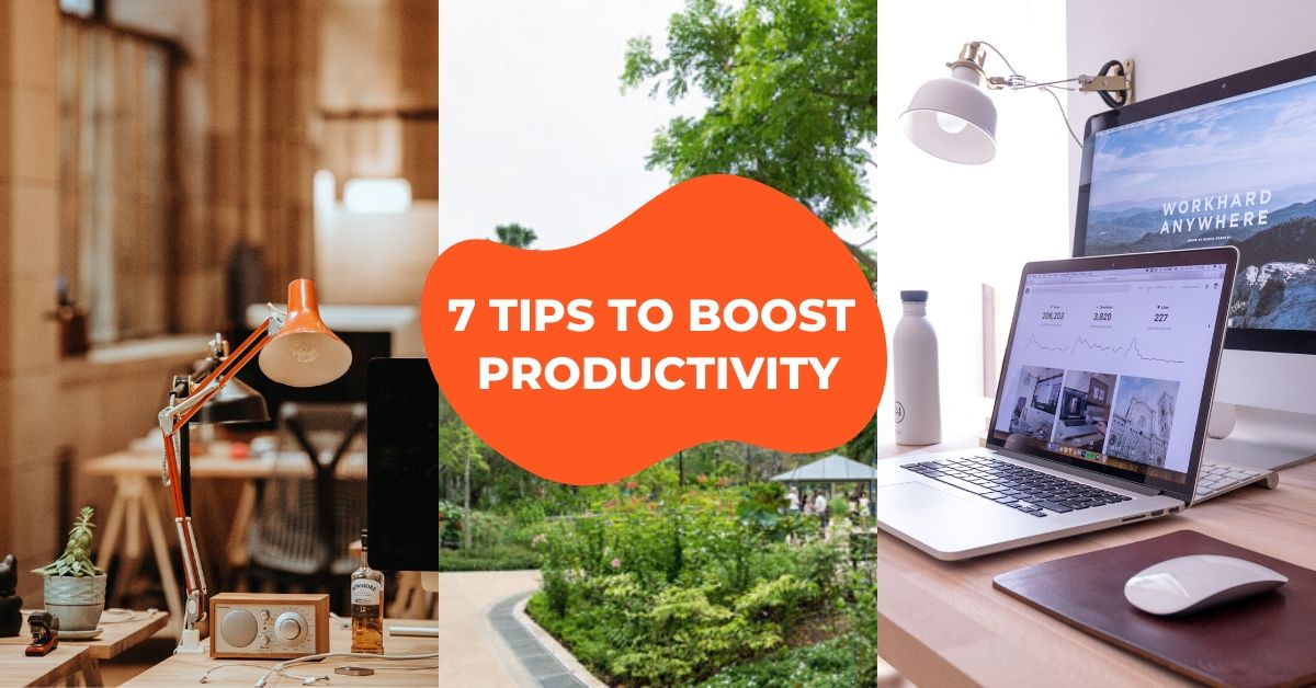home productivity tips cover image