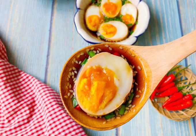 Bật Mí Cách Làm Trứng Ngâm Tương Hàn Quốc Ngon - Bổ - Rẻ