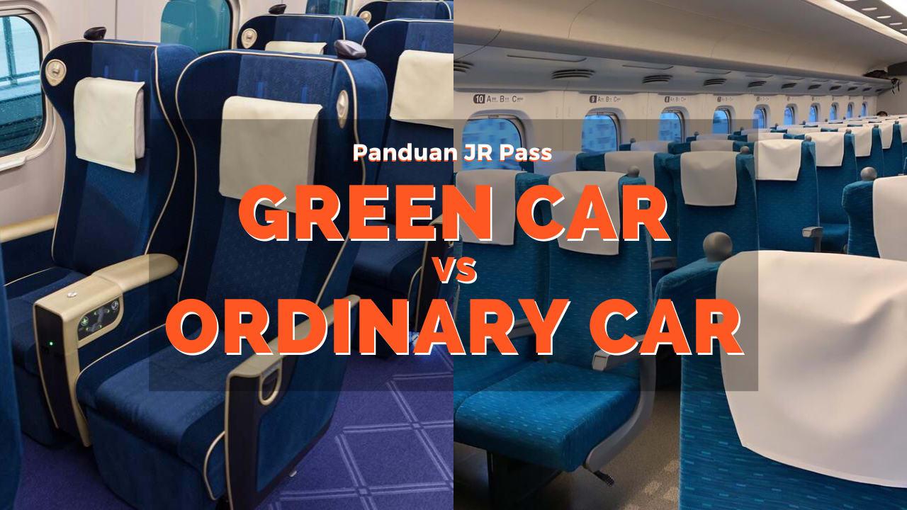 Green Car vs Ordinary Car Shinkansen JR Pass