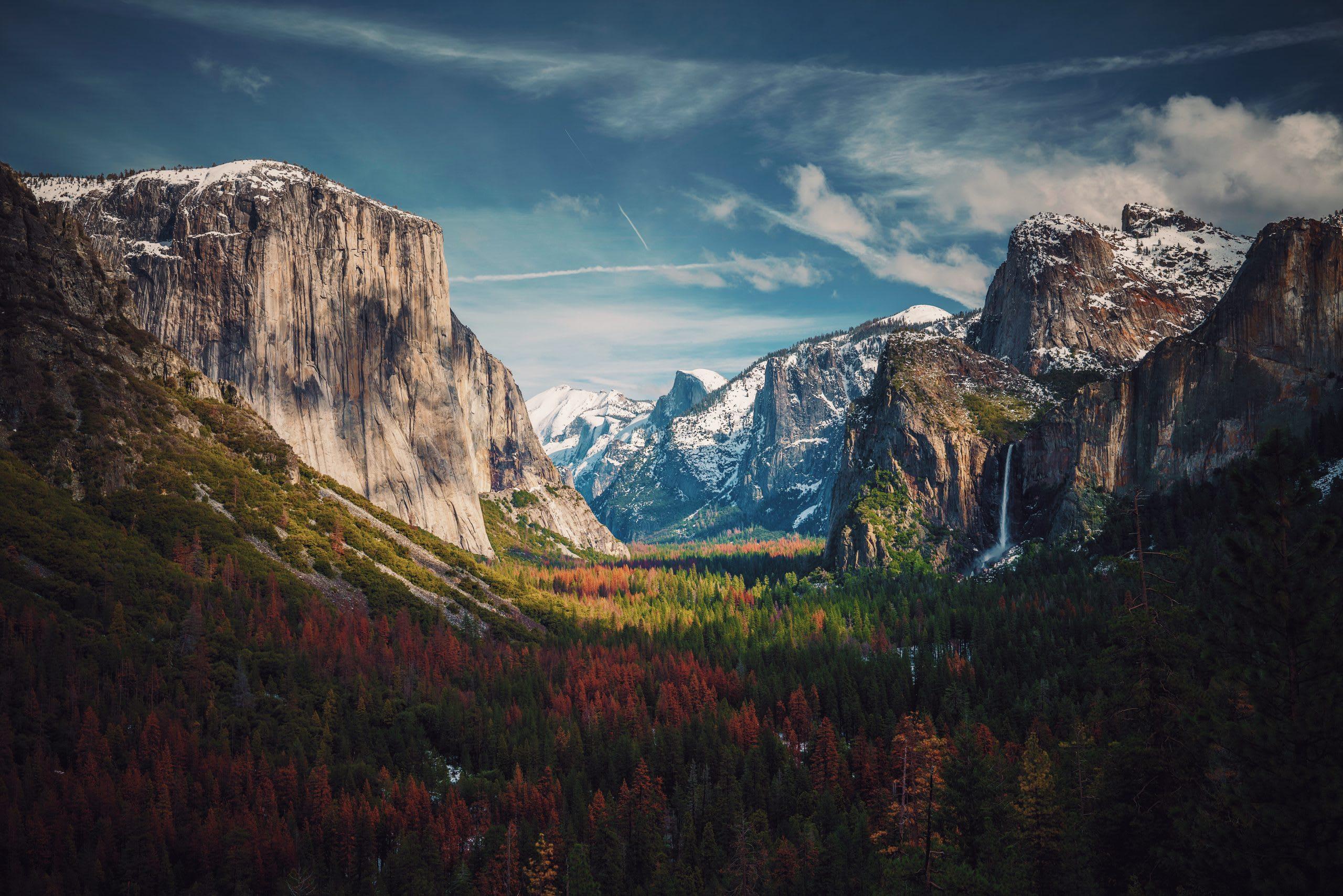 Yosemite National Park อุทยาน