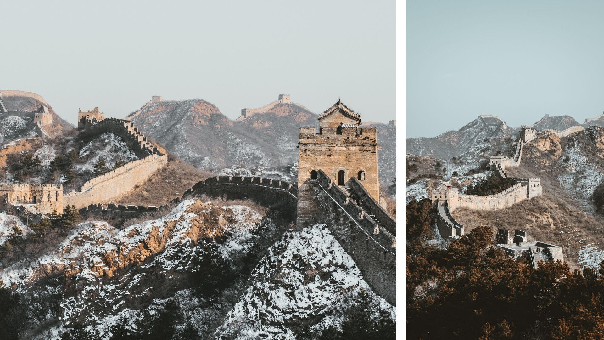 ทัวร์ กำแพงเมืองจีน อยู่บ้าน