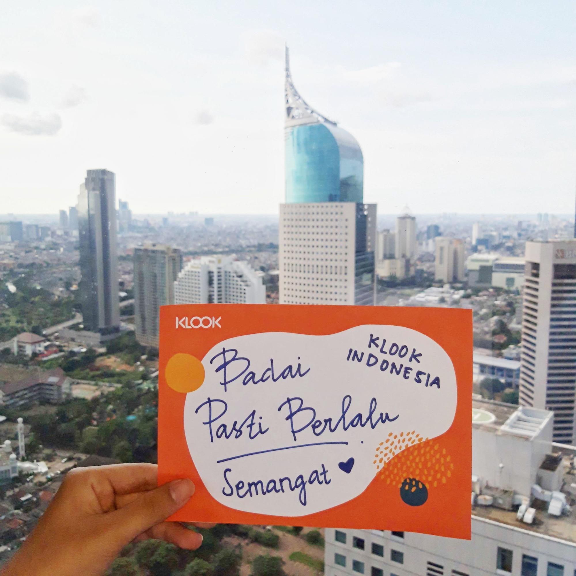 The Klook office in Jakarta