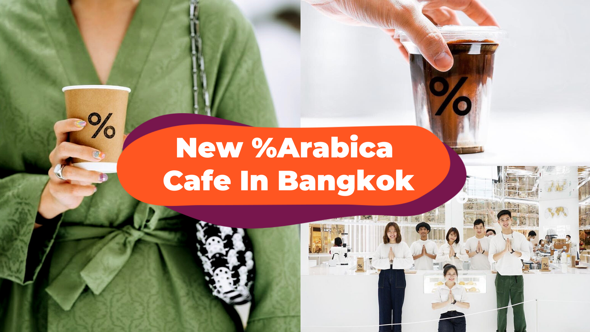 Kyoto-Born Coffee Shop %Arabica Opens Beautiful Flagship Store In Bangkok, Thailand - Add This Onto Your Post-Covid Travel List!