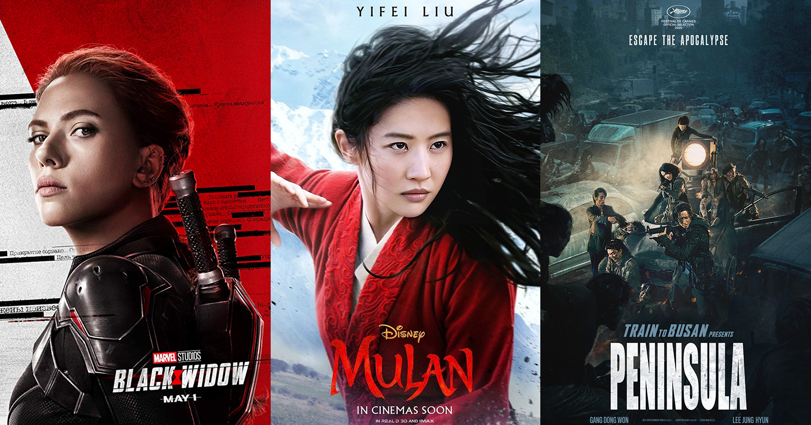 7 New Movies in 2020 You Must Watch Including Mulan, Black Widow, and Top Gun: Maverick