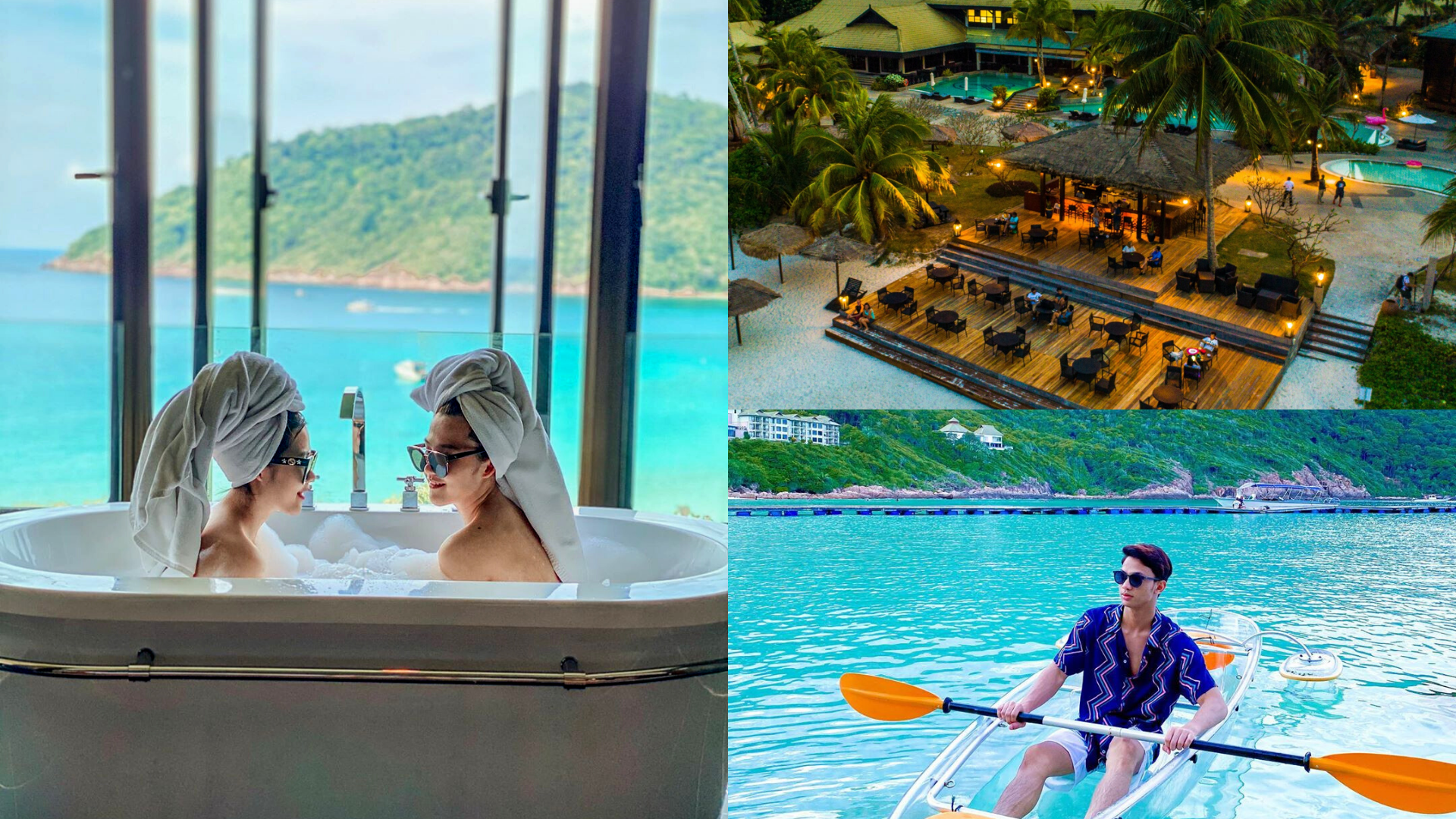 Swim With Turtles And Soak In An Ocean-Facing Tub At The Taaras Beach & Spa Resort