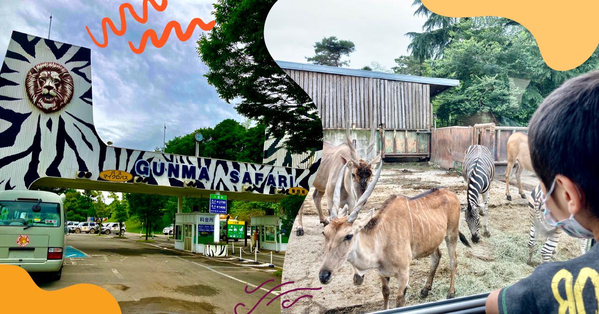 [2020最新レポ] 動物との距離の近さに度肝!群馬サファリパークの「飼育体験バス」に乗ってみた。