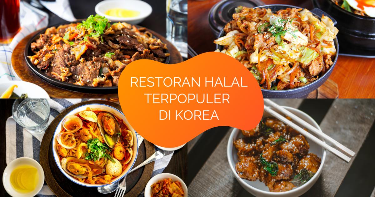Restoran Halal di Korea Selatan