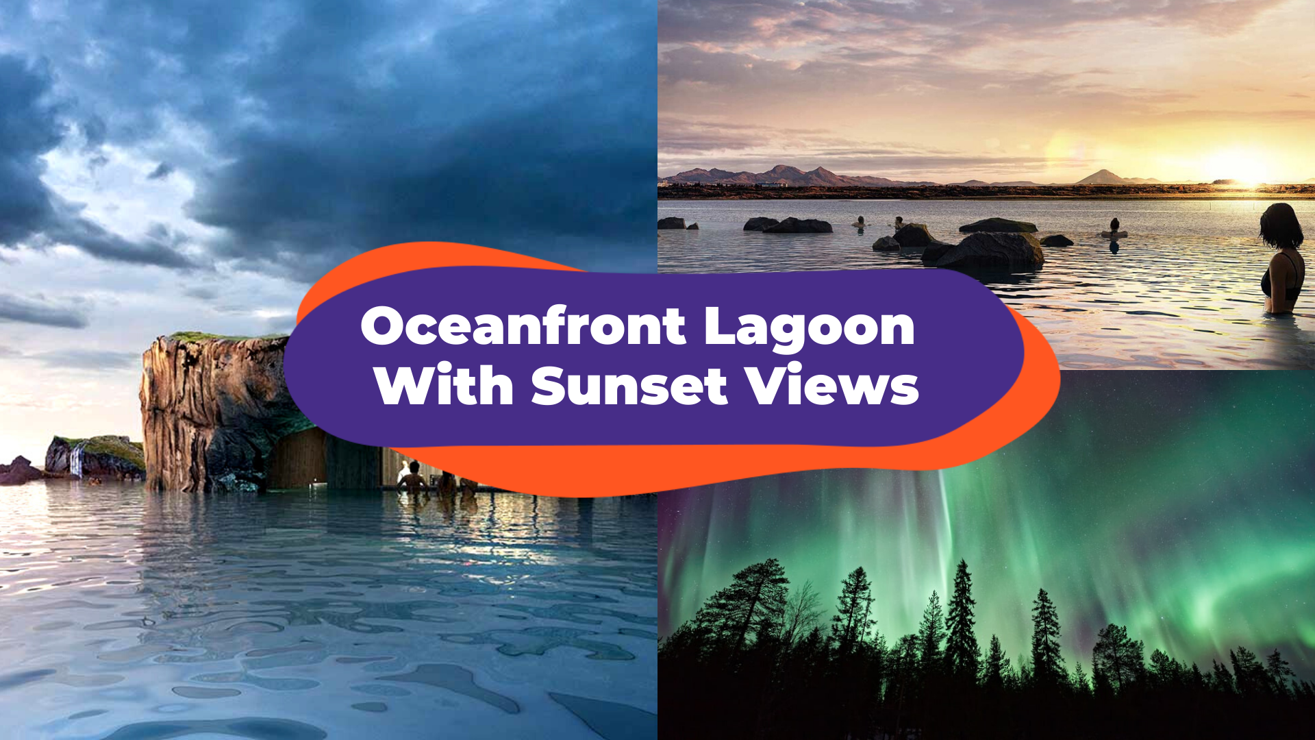 Catch The Northern Lights At Sky Lagoon, Iceland's New Geothermal Pool To Open In 2021