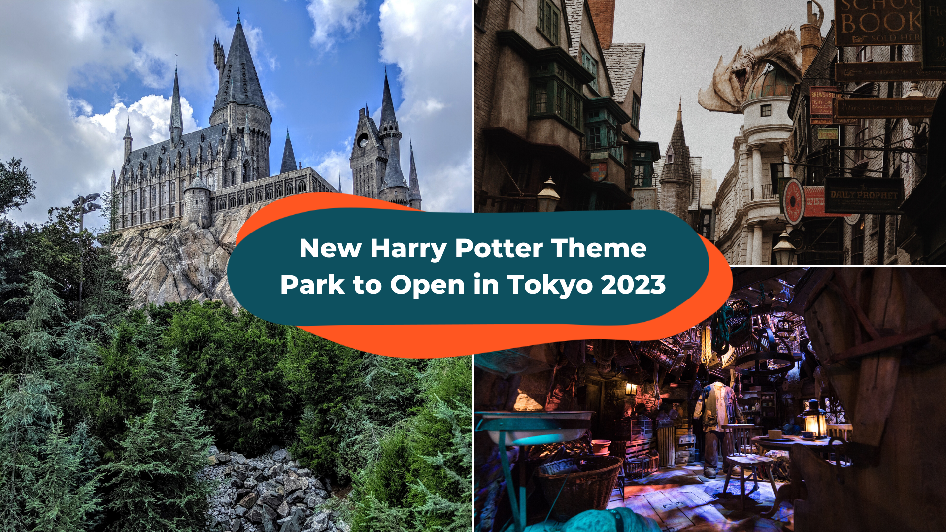 A New Harry Potter Theme Park Is Set To Open in Tokyo, Japan in 2023!