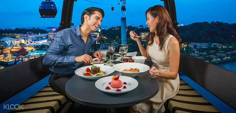 date ideas singapore cable car dining