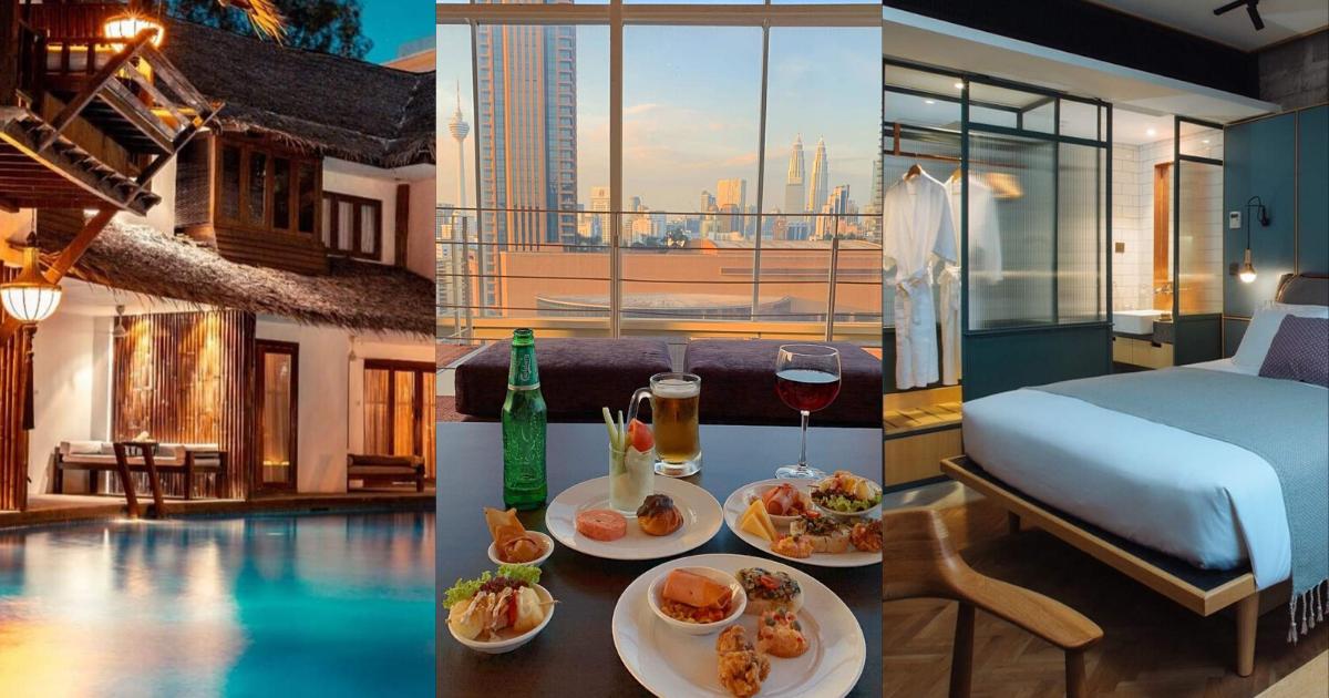 【吉隆坡酒店推荐】位于KL市中心的13间staycation酒店!
